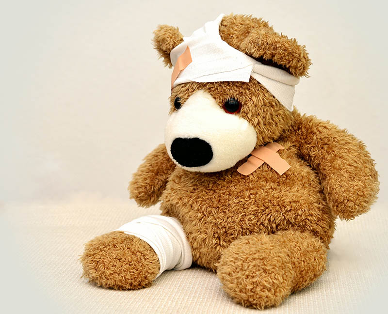 ausgestopftes-tier-bandagen-krank-42230